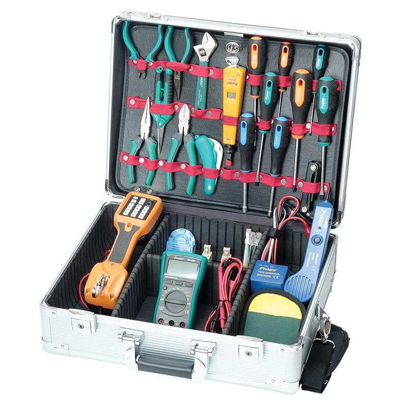 Наборы инструментов для обслуживания сетевого оборудования